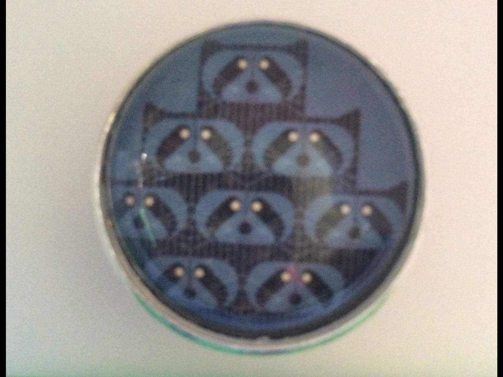 Charley Harper Raccoon Varmint Sewing Button 1 Mid Century Mod Charles AK17