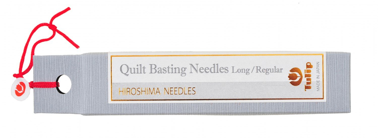 Hiroshima Tulip Japan Quilting Needles Assorted Sizes Sewing Quilting Patchwork Needles - 6 Count Vial THN011