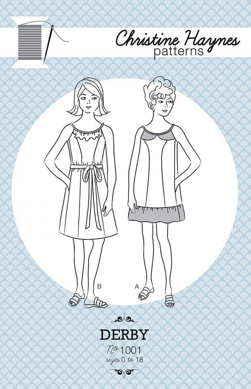 Derby Dress Christine Haynes Women's Sewing Pattern PAT07