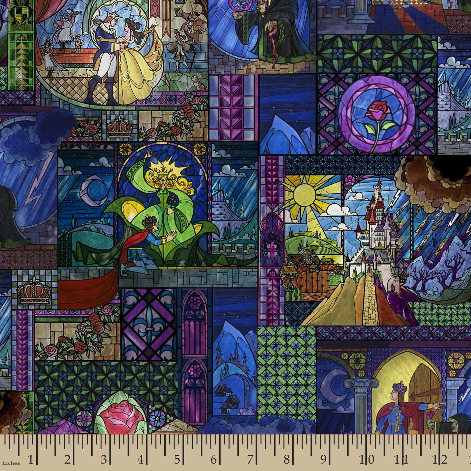 Flower Fairy Print Fabric Princess Fairies and More!