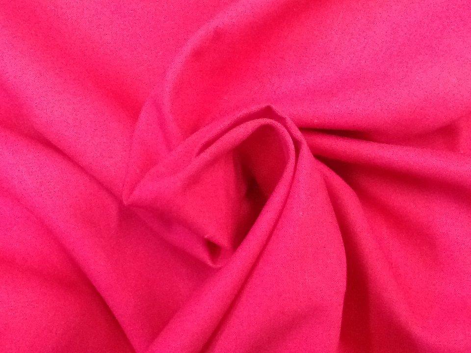 Linen Fuschia Hot Pink 54 wide Linen Stof Denmark Quilt Fabric Apparel Fabric Linen Fabric CR393
