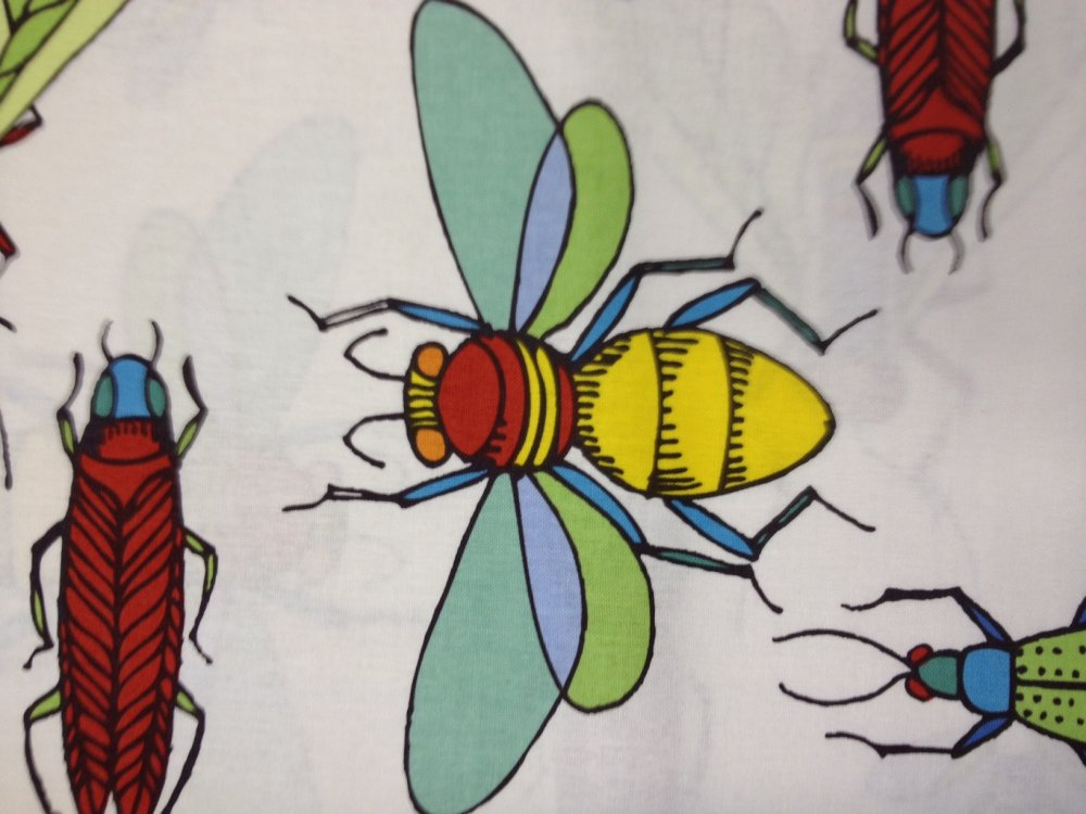 Bug Beetle Insect Jone Inc Cotton Fabric Quilt Fabric CR399