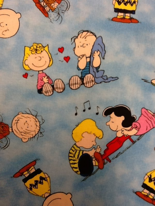 Peanuts Charles Schultz Charlie Brown Christmas peanuts Woodstock Cute Cotton Quilting Fabric CS256