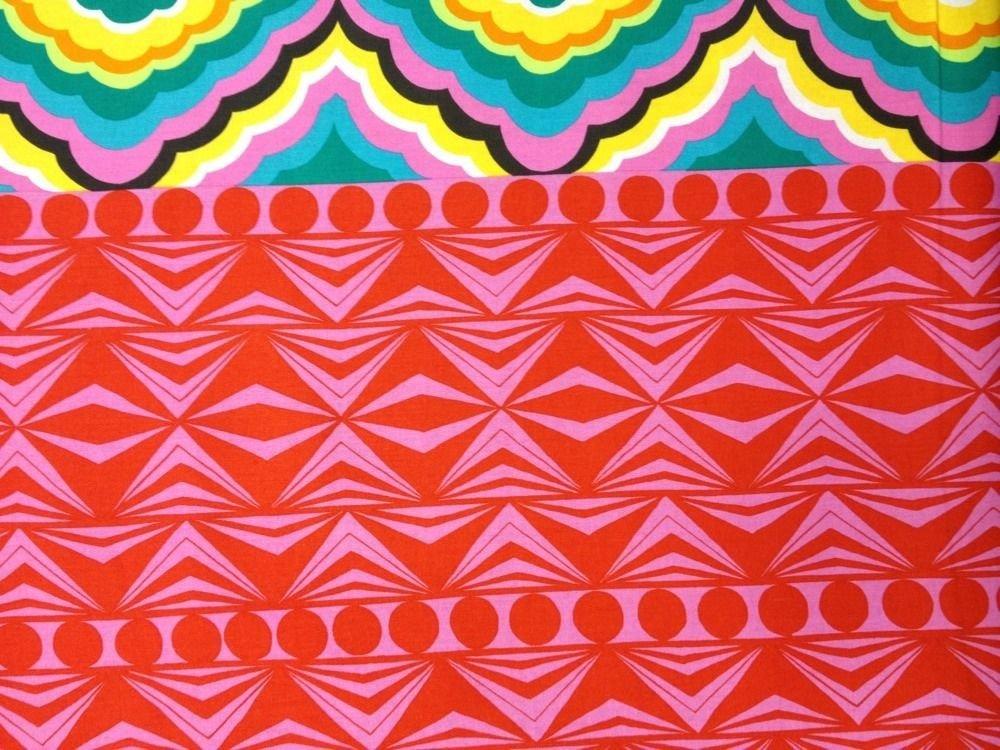 Geo Mod Djada Alexander Henry Cotton Fabric Quilt Fabric CS407