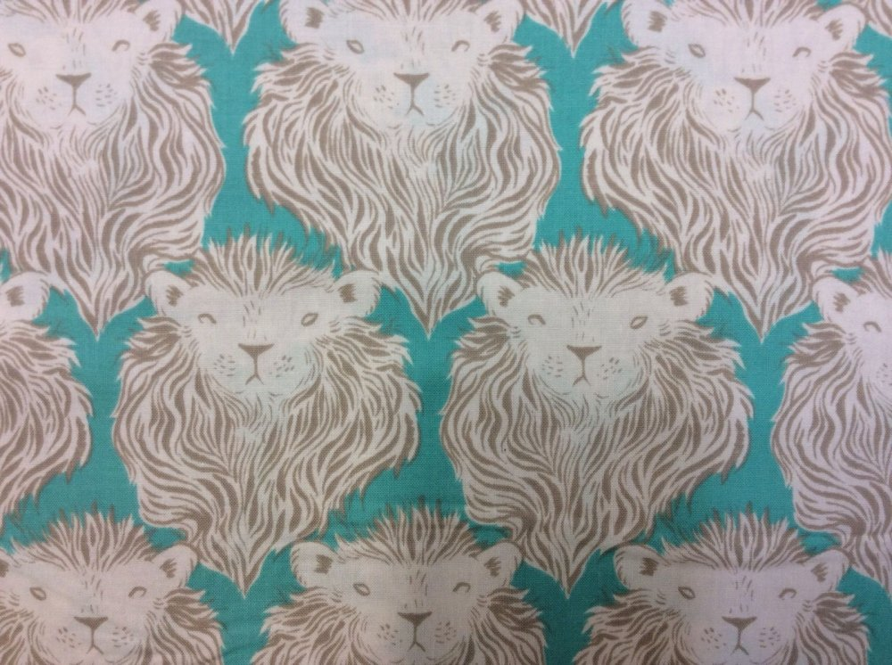 Cotton + Steel Lion Mane Cat Wild Majestic Cotton Fabric Quilt Fabric CTN04