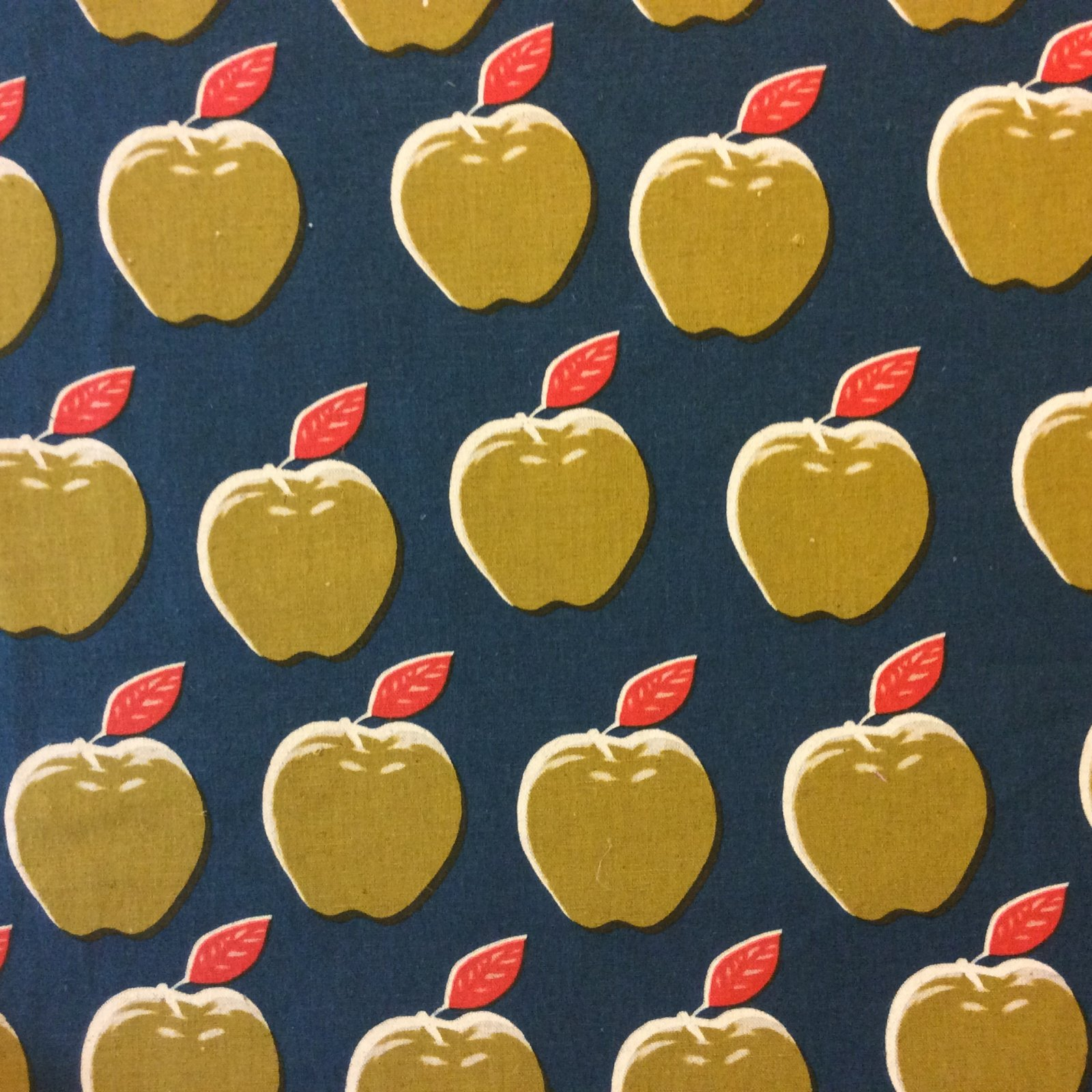 COTTON + STEEL Apple Fruit Food Summer Cotton And Steel Heavy Weight Cotton Fabric CTN29