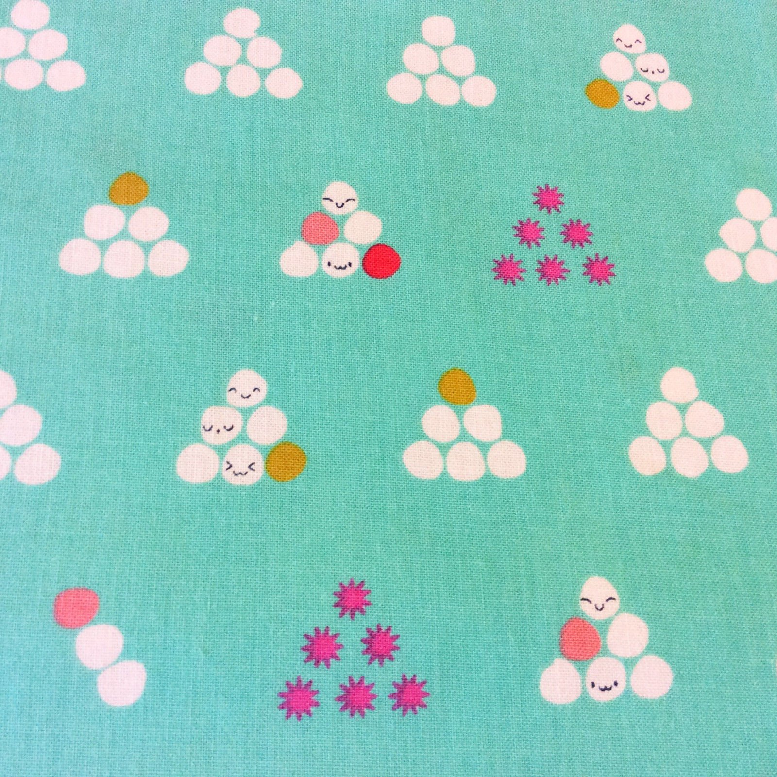 COTTON + STEEL Mochi Japan Japanese Cute Kawaii Cotton Quilting Fabric CTN52