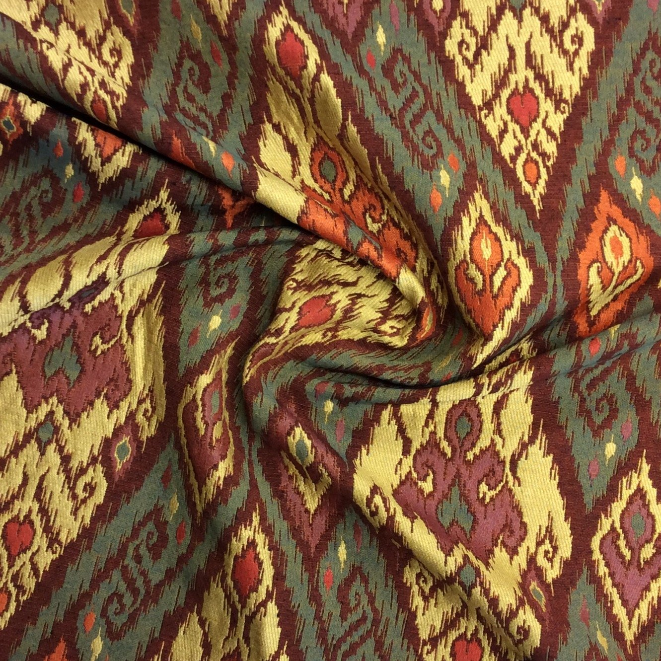 CV108 IKAT Woven Tapestry Home Decor Upholstery Fabric