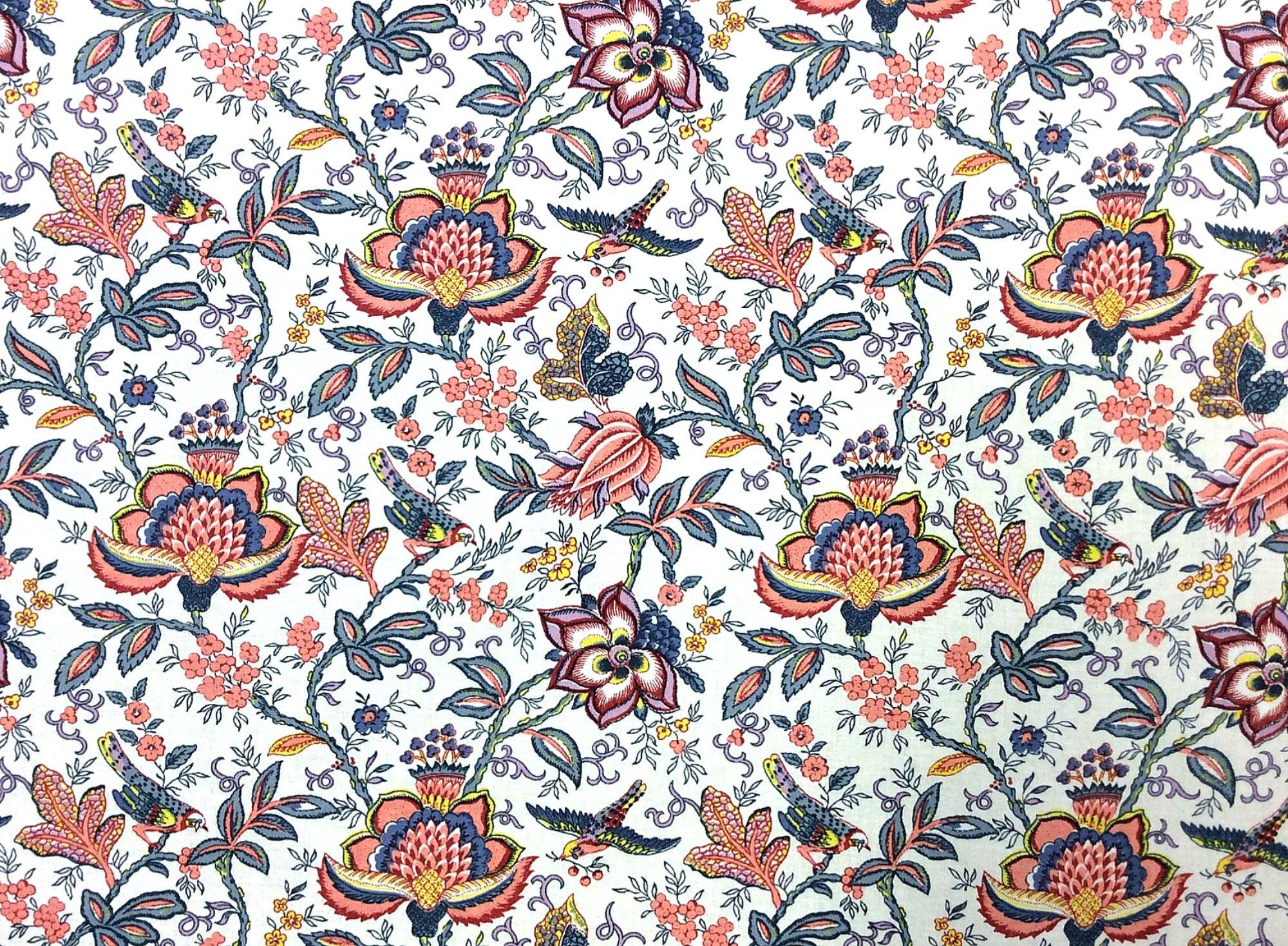 Provence France Valdrome Floral Cotton Home Dec Fabric ST11
