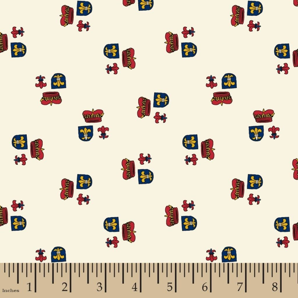 FAT QUARTER! Small Wonders of the World FRANCE Retro Cotton Quilt Fabric RPFMD353