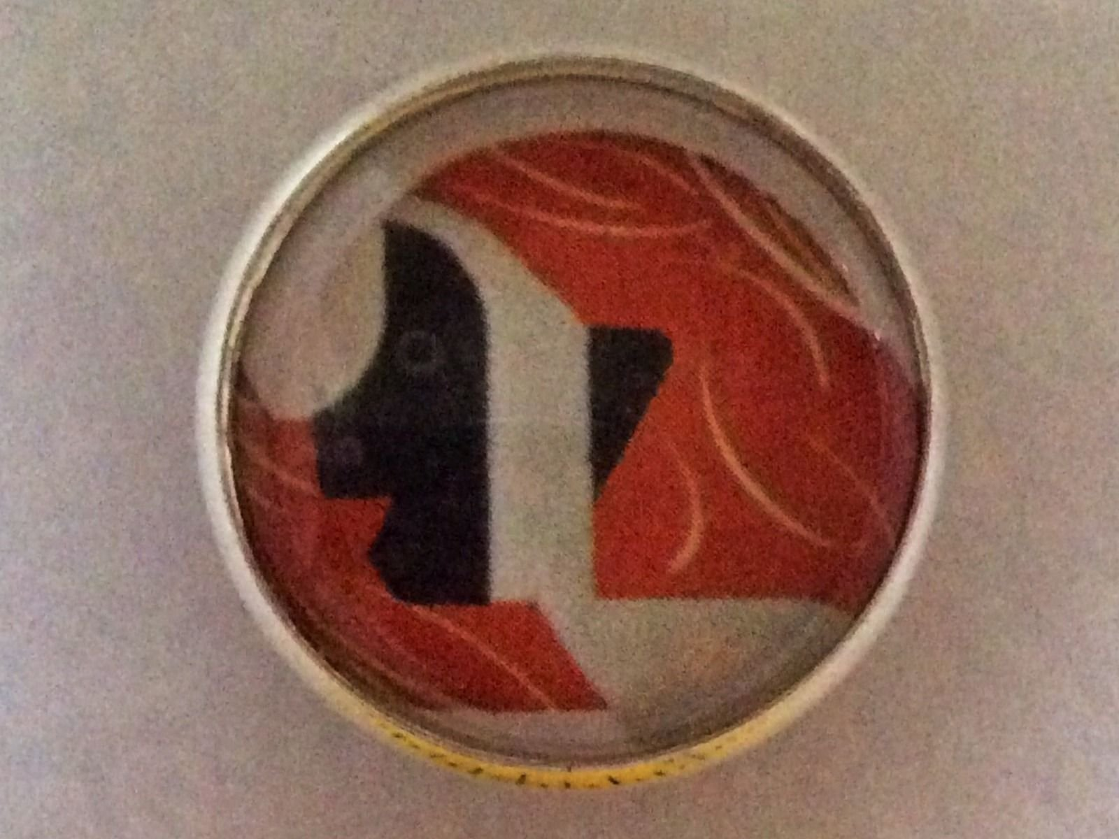 Charley Harper Sloth Rainforest Sewing Button 1 Mid Century Mod Charles HA54