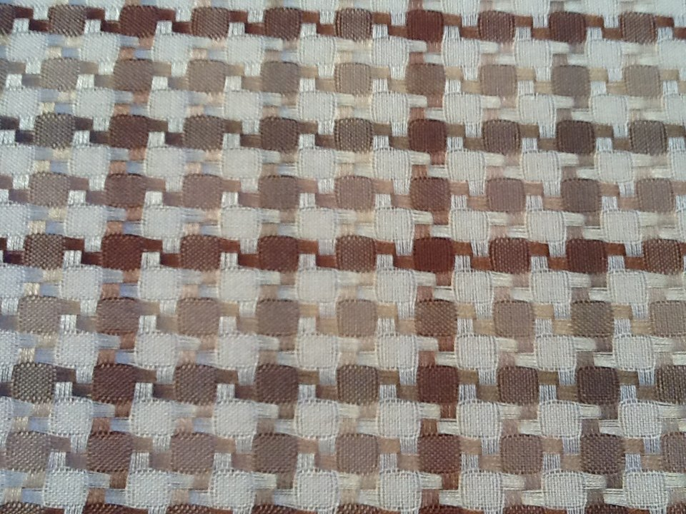 Houndstooth Woven Light Weight Cotton Fabric Drapery Fabric SALE! CLOSEOUT  HD122