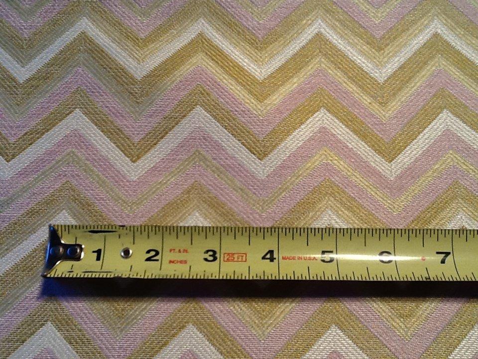 Beacon Hill Fabulous Zig Zag Woven Heavy Backed Contemporary Upholstery Fabric HD682/HD783