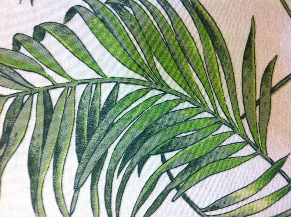 Palm Leaves Tropical Leaf Soft Famous Maker Printed Acrylic Outdoor Fabric S573