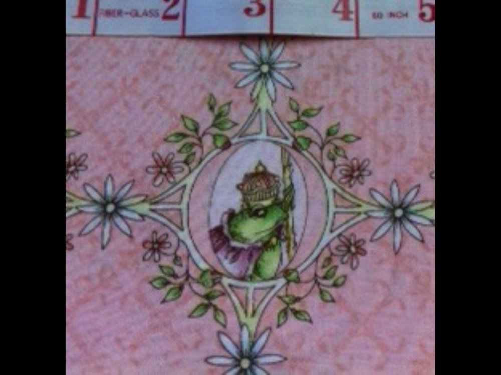 Princess Fairy Tale Prince Charming Vintage Style Cotton Fabric Quilt Fabric N136