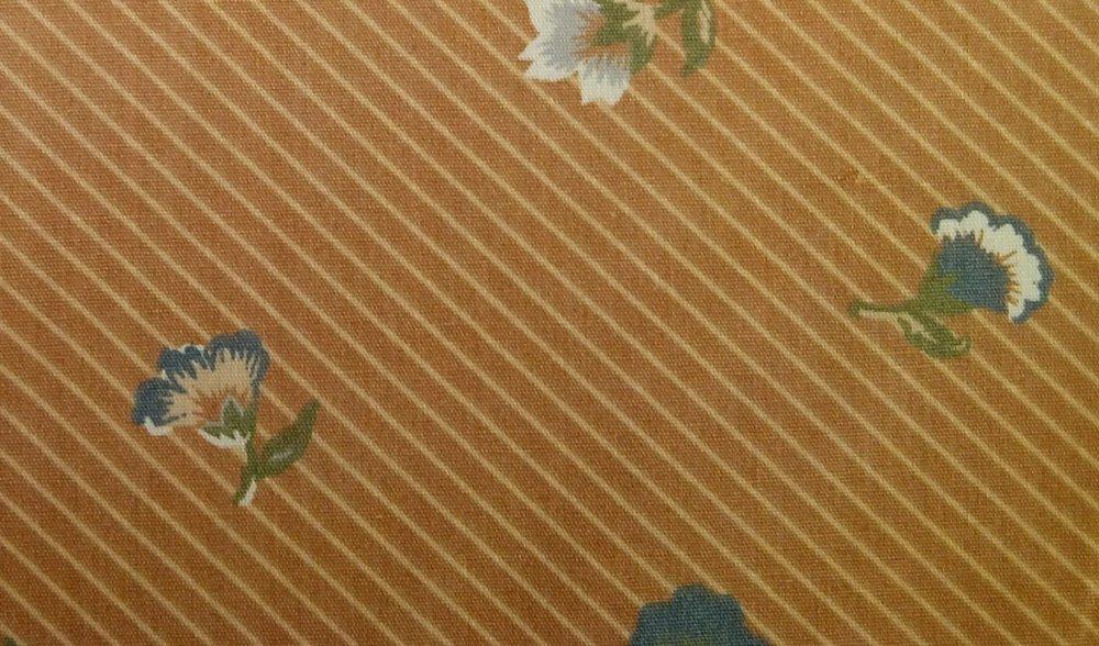 Chintz Vintage English Country Garden Leaf Print UCC Chetley Heavy Cotton Fabric Home Dec HD919
