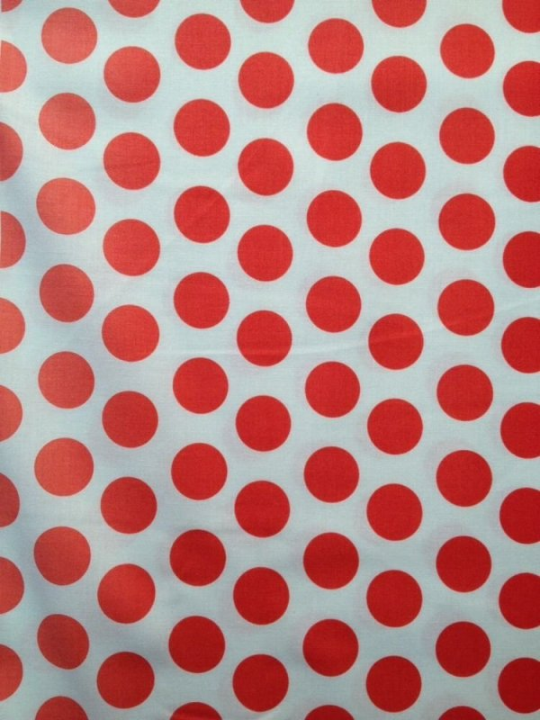 Polka Dots Ombre Spots Red Dots Cute Cotton Fabric Quilt Fabric RB04