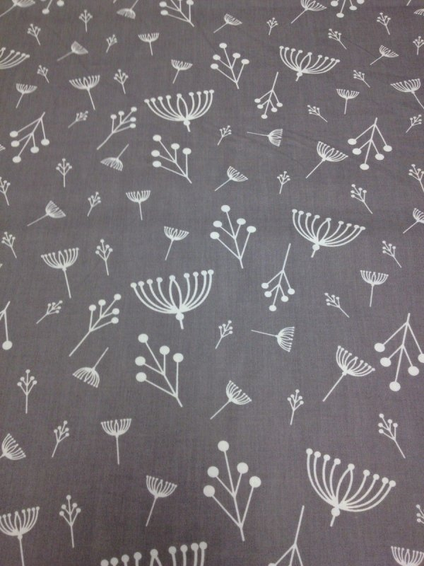 Charley Harper Flower Seed Organic Cotton Fabric Quilt Fabric Charles CHB14