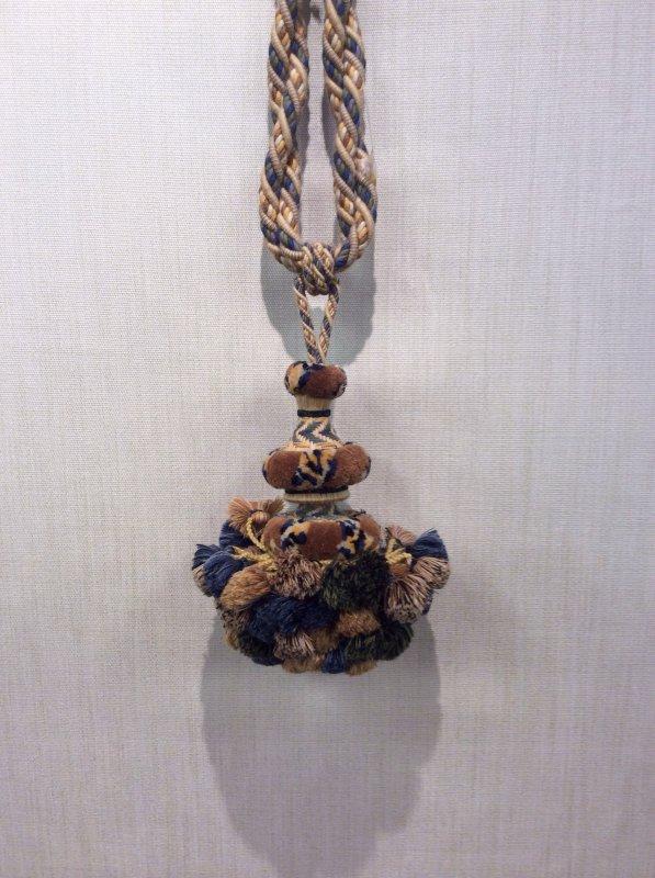 DeClercq Clarence House Mohair Wool Embrasse Passimenterie Tassel Handmade in Paris France Huge Single Tassel Tieback CHDC220