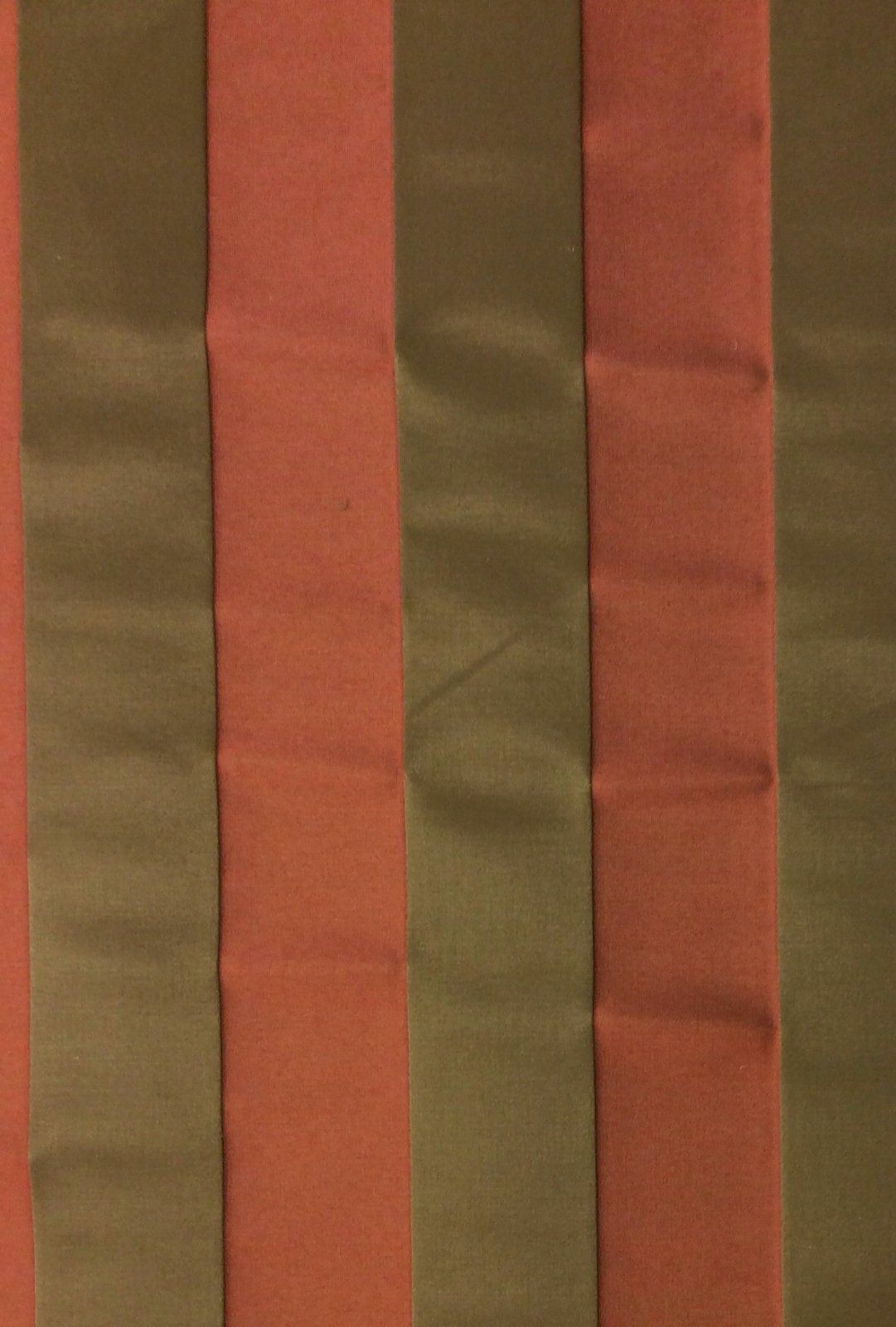 Clarence House Trianon Stripe Silk Cotton Heavy Weight Fabric CLA113