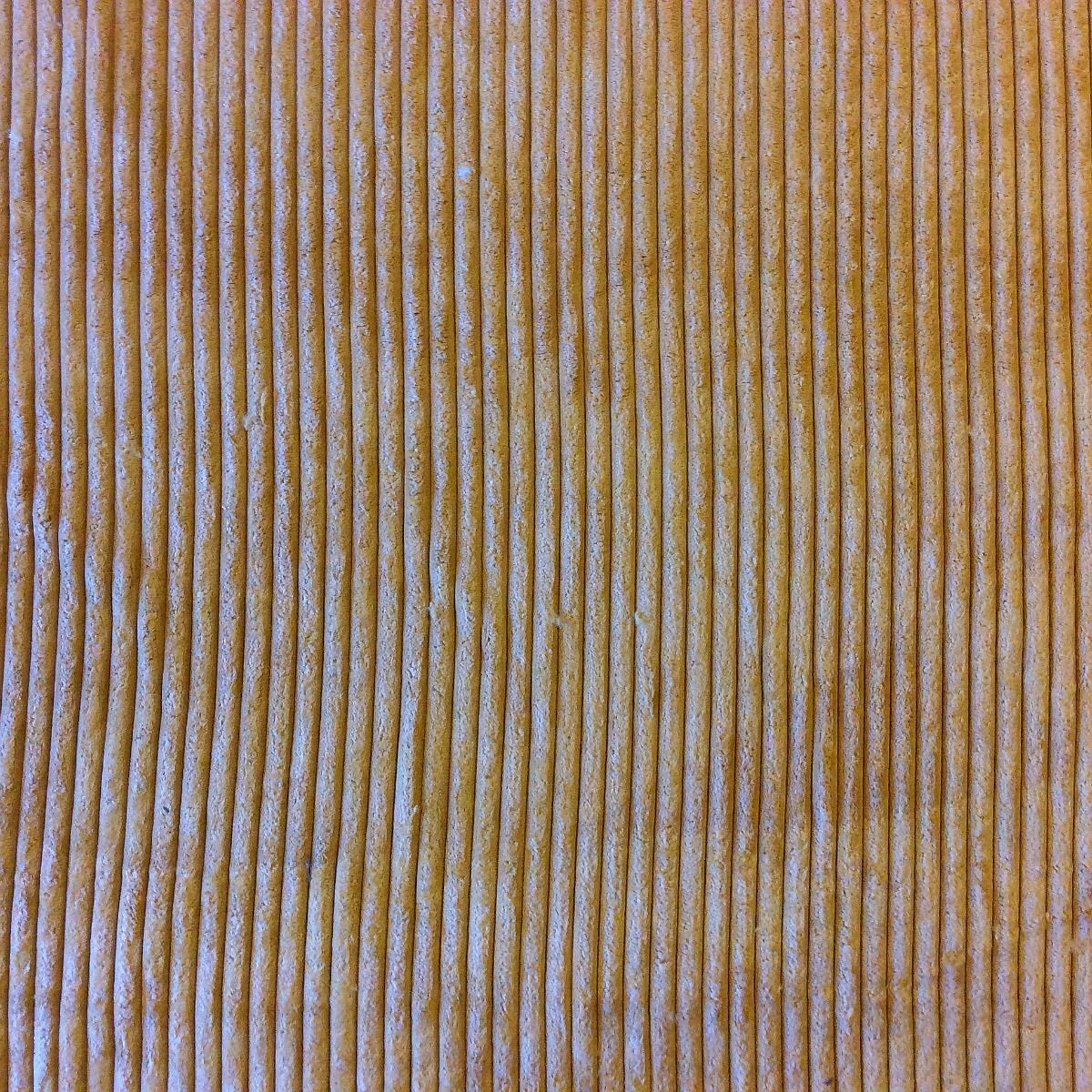 Amazing Soft Wide Rib Microfiber Gold Heavy Duty Upholstery Fabric OSRG159