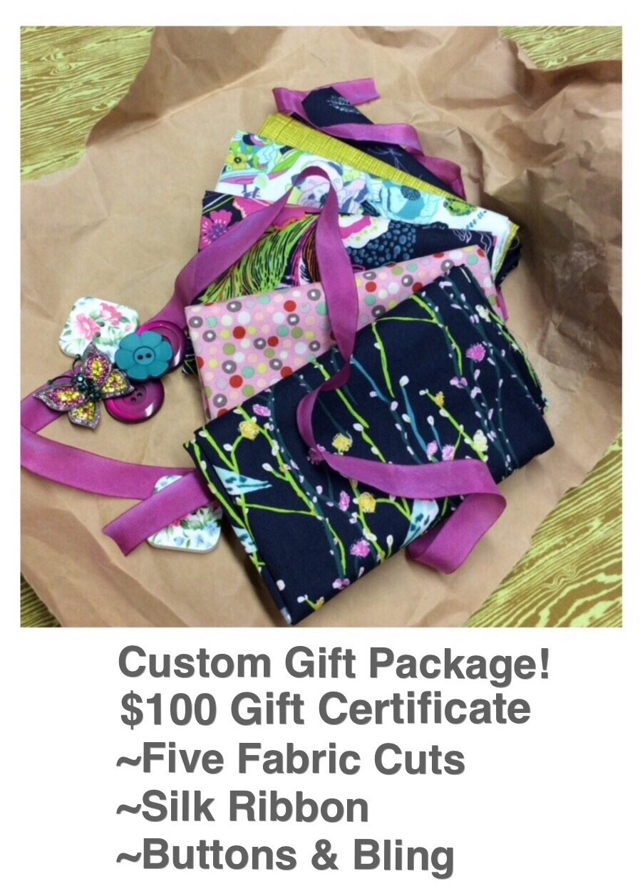 Custom Instant GIFT PACKAGE with $100 Gift Certificate- Choose a Theme - We will do the rest!