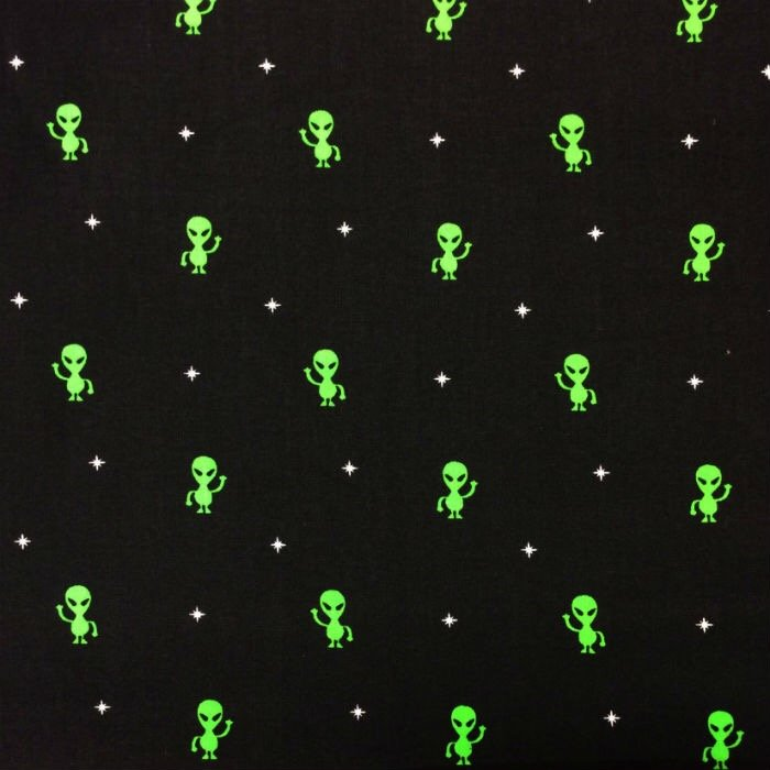 Science fiction for Space themed fabric