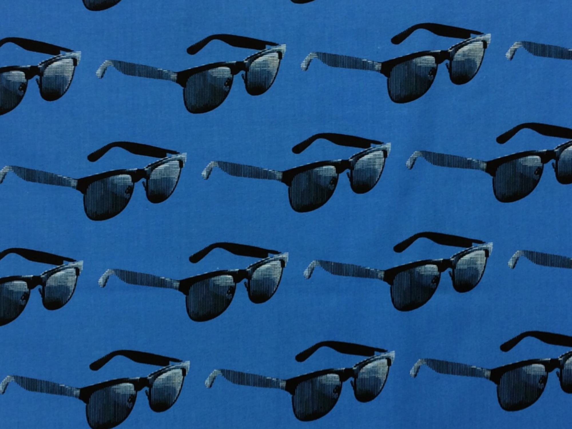MO75 Sunglasses Shades Urban Cool Fashion Moda Retro Cotton Quilt Fabric