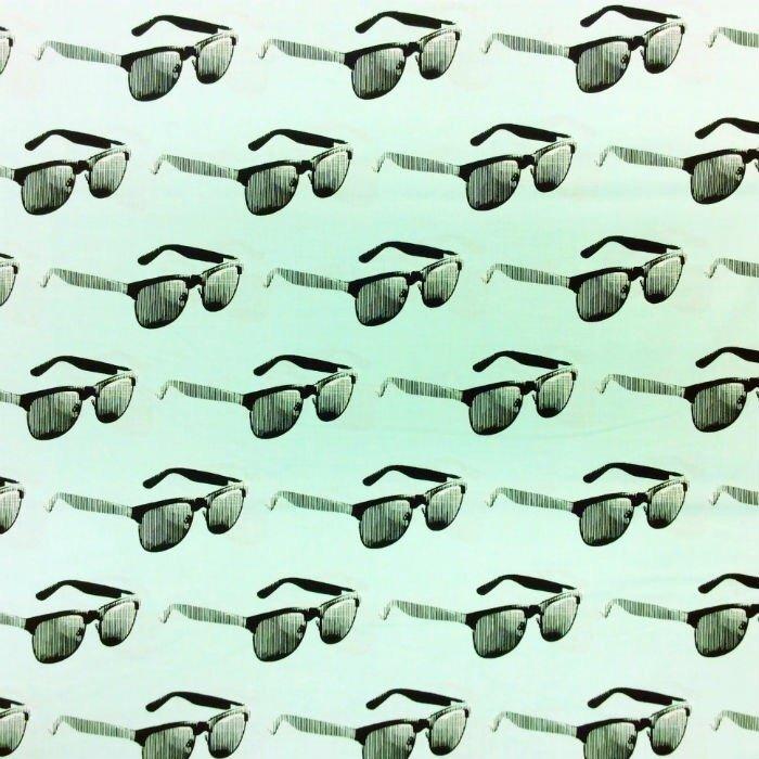 MO74 Sunglasses Shades Urban Cool Fashion Moda Retro Cotton Quilt Fabric