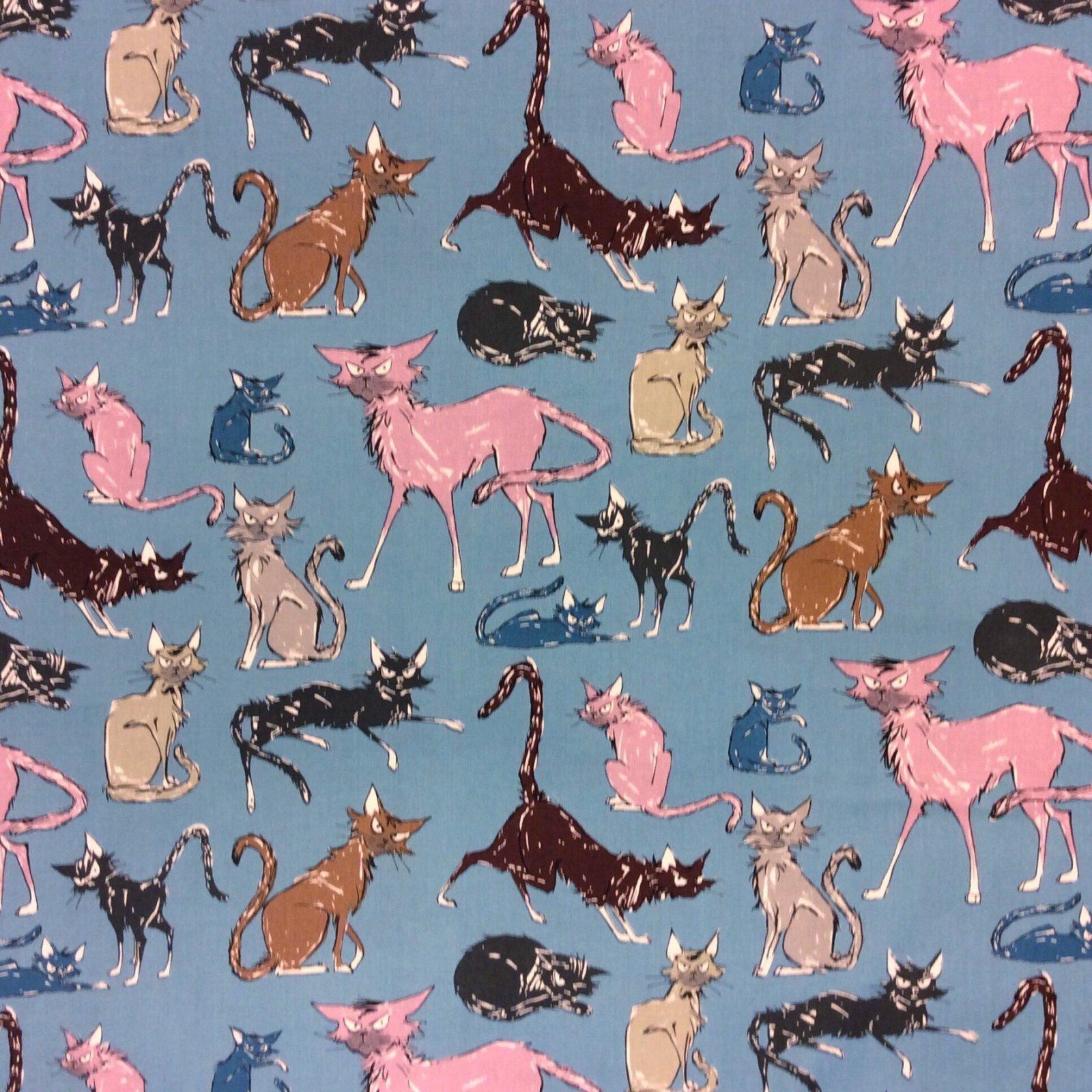 AH199 Ghastlies Alexander Henry Cotton Quilt Fabric