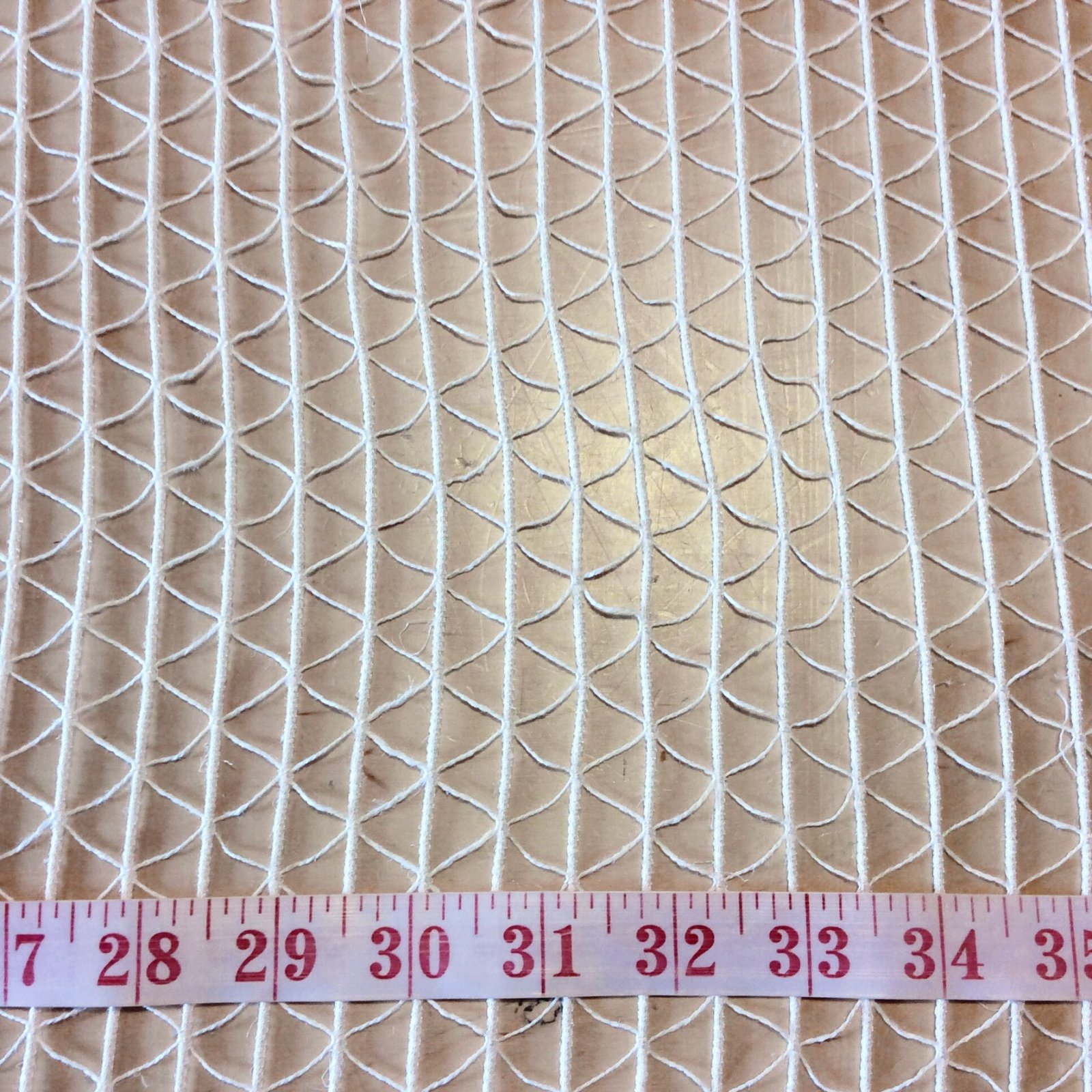 Clarence House White Netting Sheer Fabric CLA152