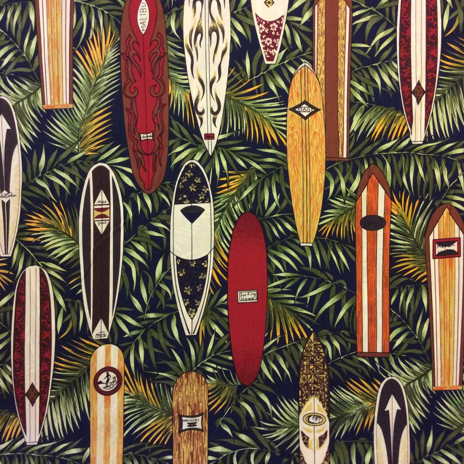 HM05 Hang Ten Cotton Quilt Fabric HM05