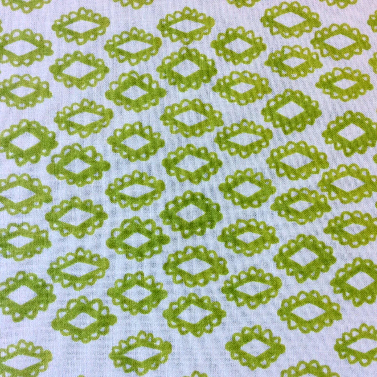 COTTON + STEEL MESA Diamond Geo Geometric Pattern Retro Cotton Quilting Fabric CTN54