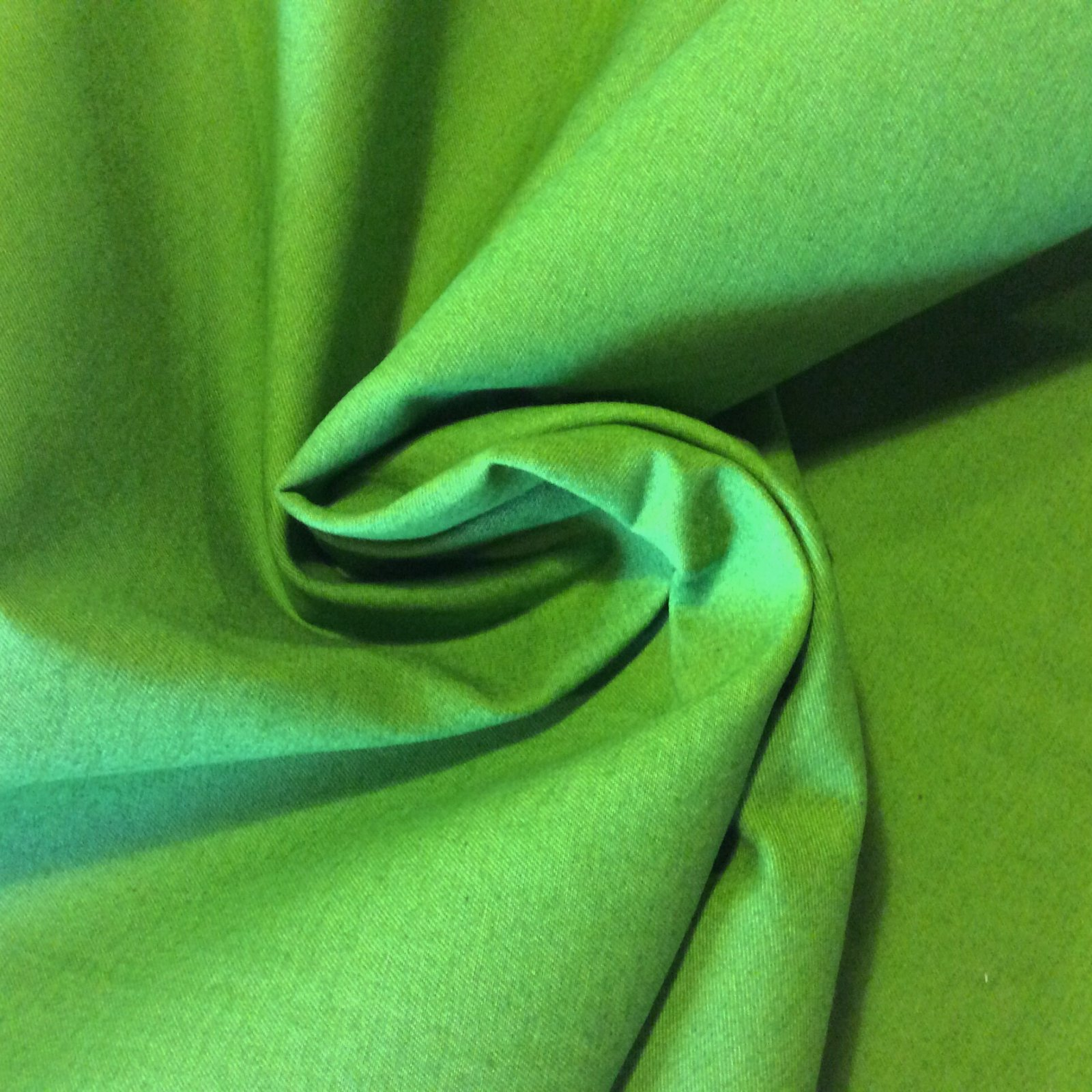 Green Heavy Sportswear Denim 66 Wide Fabric APL100 PIX
