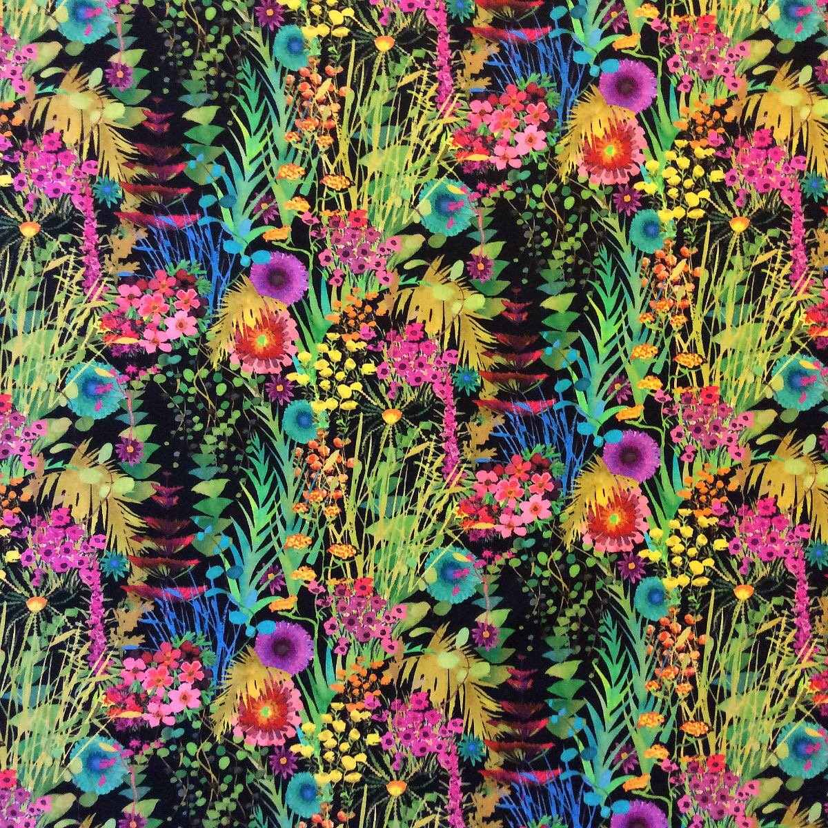 Liberty of London Neon English Woods Cotton LAWN Apparel Fabric LL08