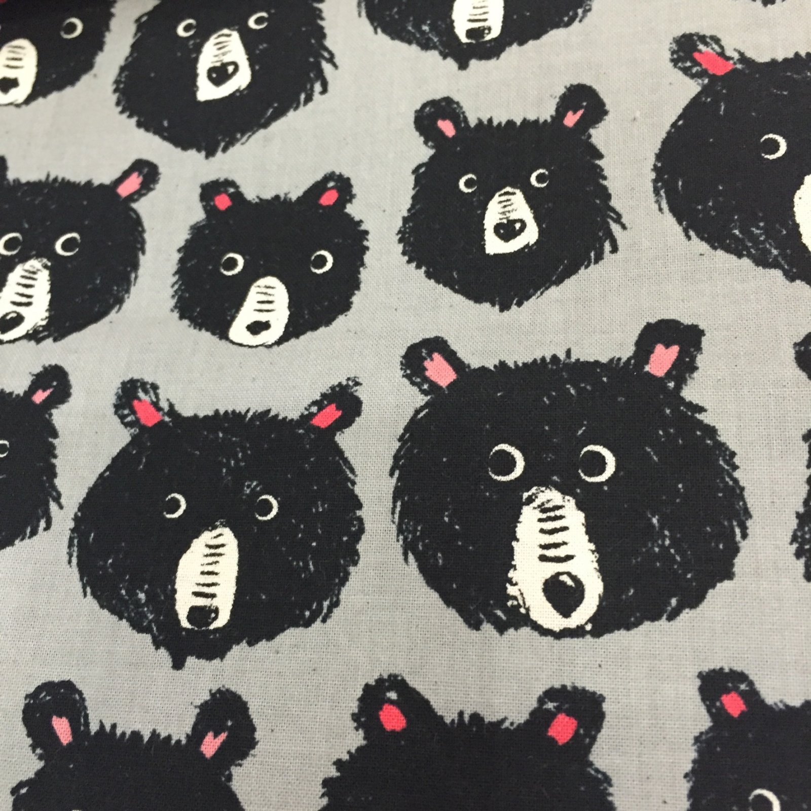 BACKORDERED Cotton + Steel Teddy and The Bears Cotton Quilt Fabric