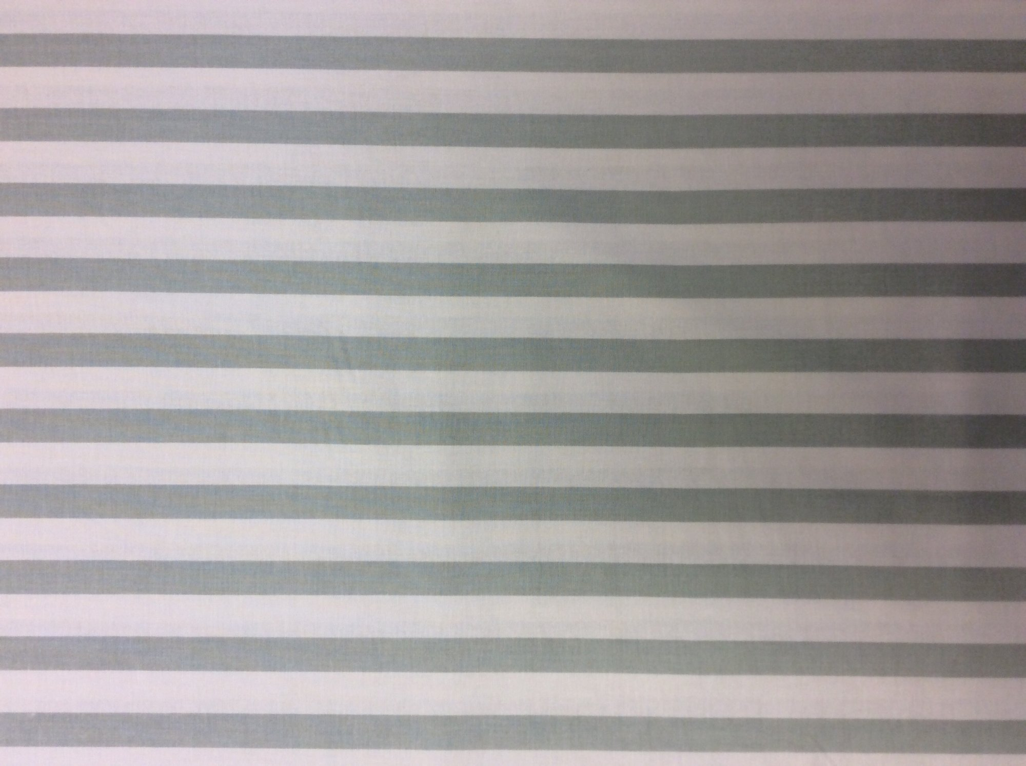 Circus Stripe Mint and White Stripe Print Cotton Quilt Fabric MD328