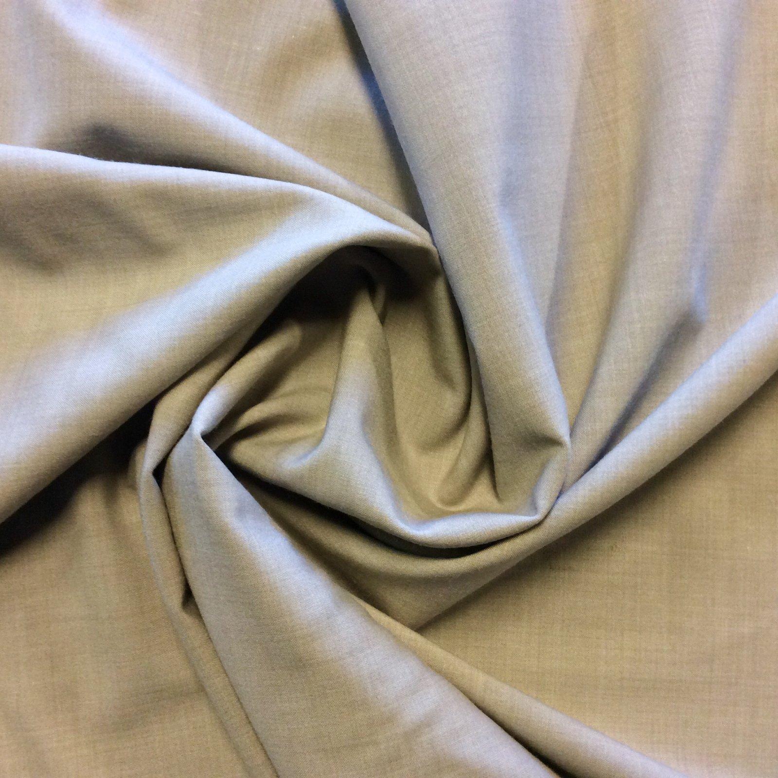 Taupe Stretch Linen Textured Apparel Dress Fabric FMT18