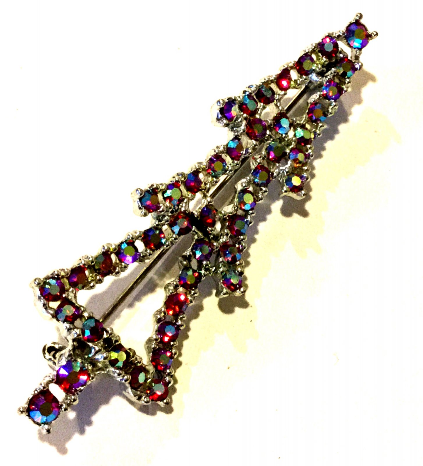 Christmas Tree Costume Jewelry Pin