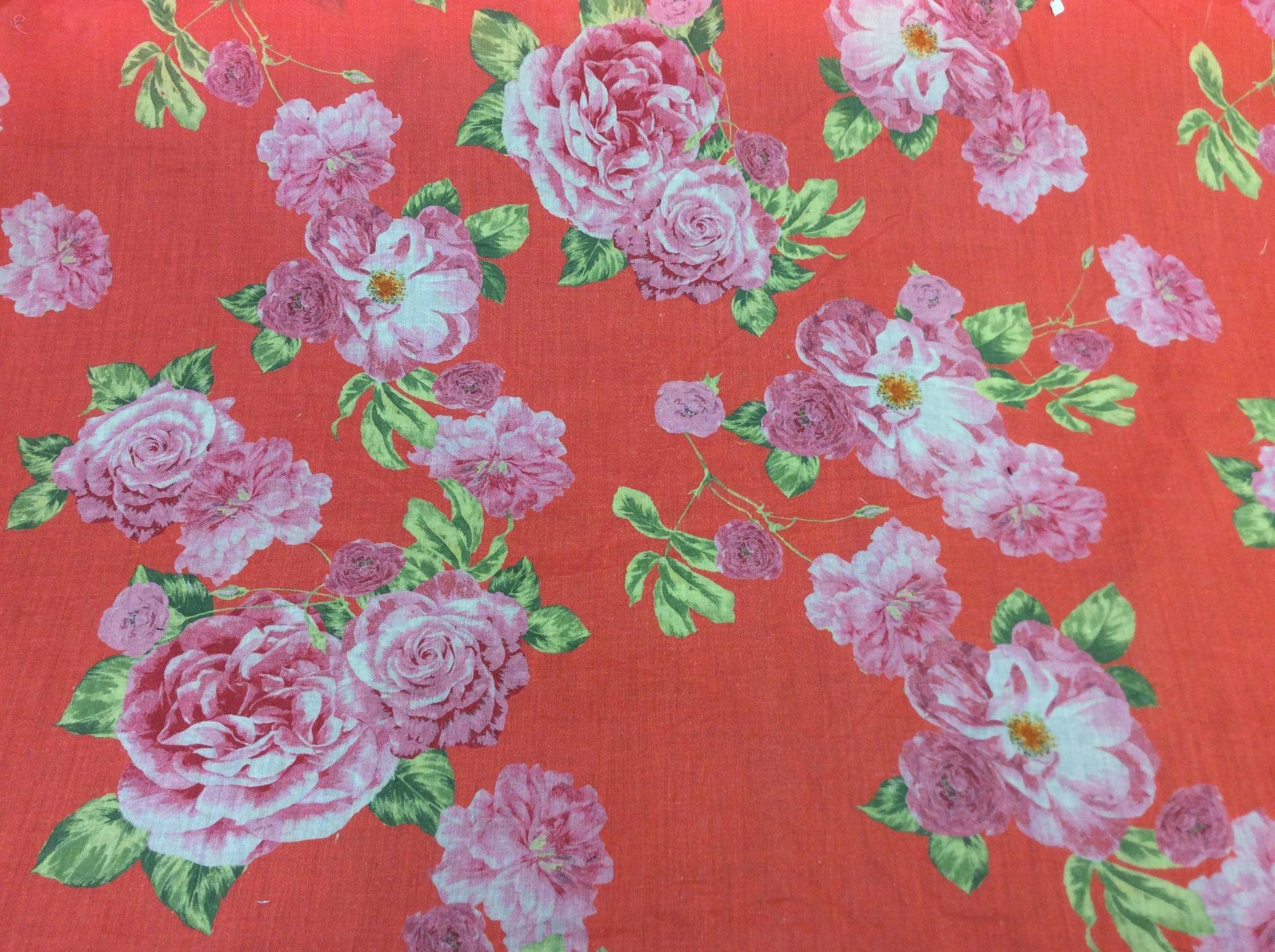 Floral Cotton Lawn Apparel Fabric RMRC5989