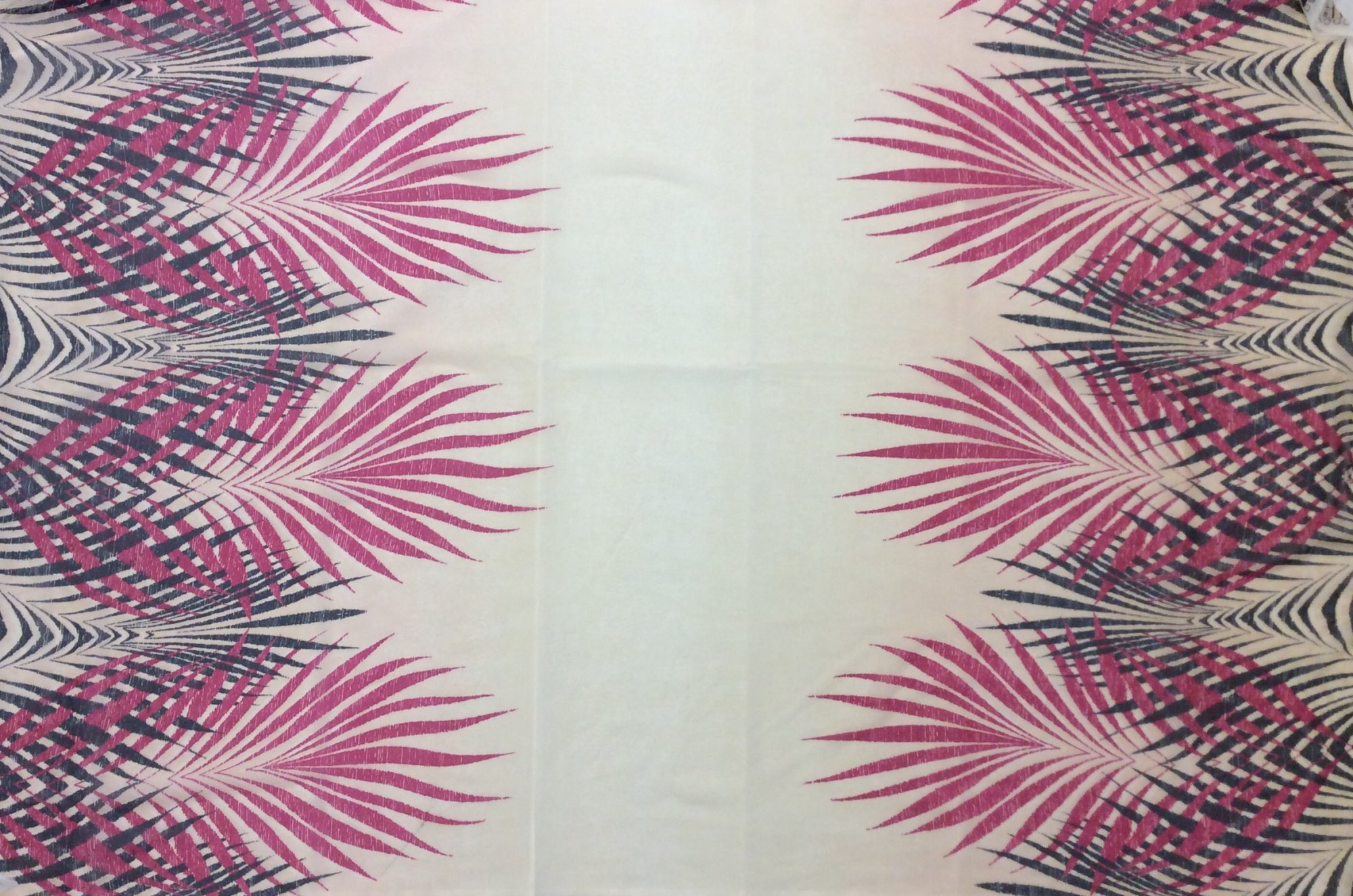 Sheer Silk Chiffon Palms Apparel Fabric RMAK6182