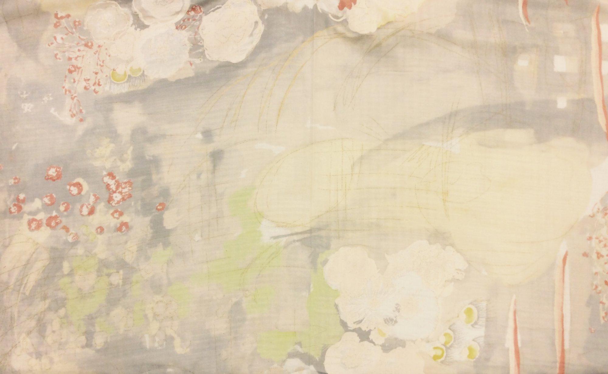 Nani Iro Japanese Double Gauze Nani Iro Komorebi III 100% Cotton Apparel Fabric SK39