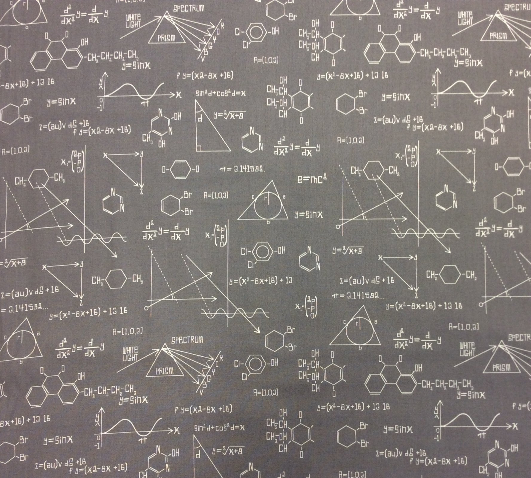 Science Fair Quilting Cotton Fabric RK173