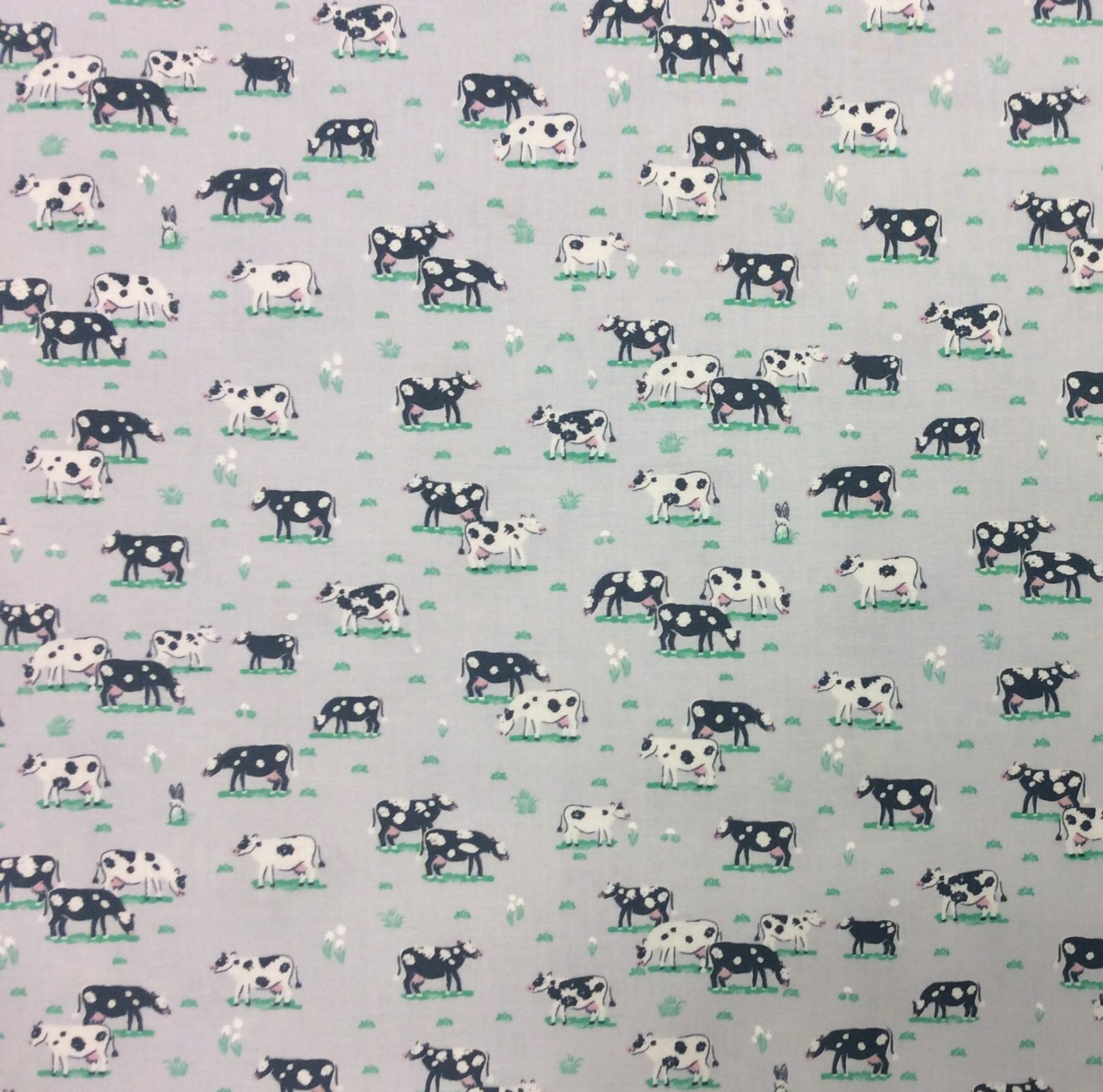 Dear Stella Cow Pasture Farm Animal Cotton Quilting Fabric FT165