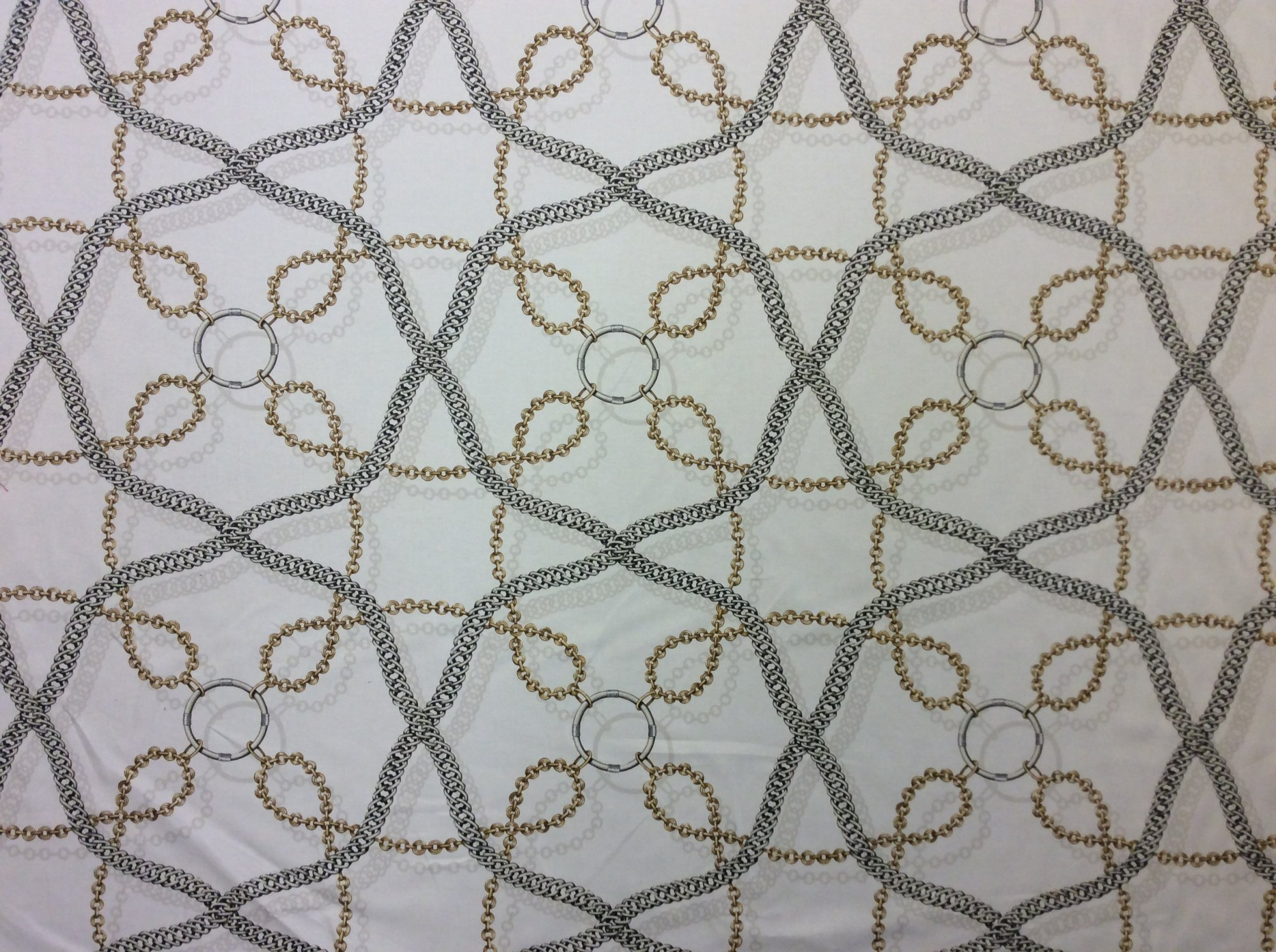 6 Yard Bolt!!! Waverly Chain Reaction Cotton Print Mid Weight Upholstery Home Dec Fabric LC33