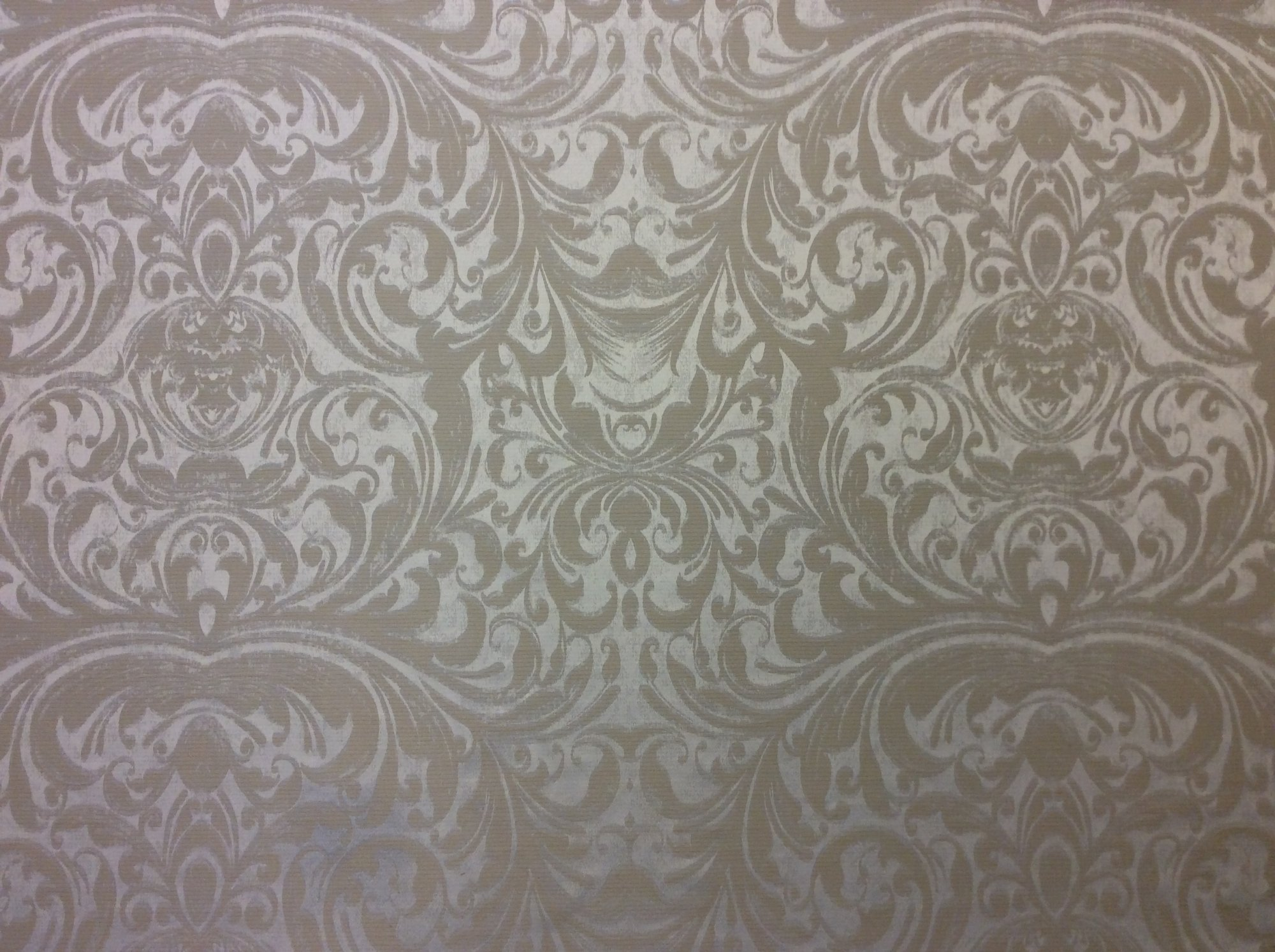 Large Scale Damask Transitional Drapery Light Weight Upholstery Home Dec Fabric CAR1809