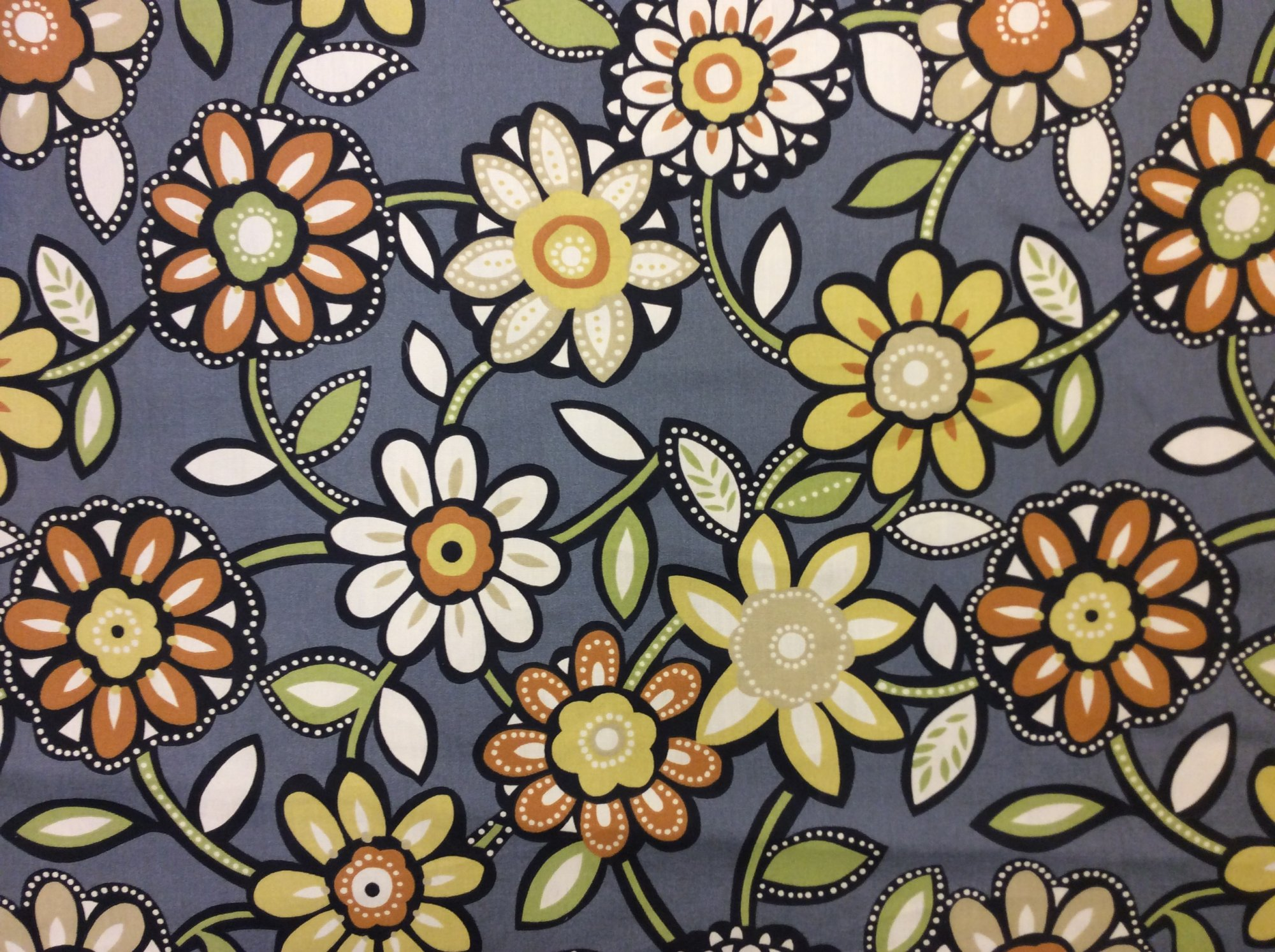 Floral Contemporary Scandinavian Modern Style Floral Print Outdoor Acrylic Fabric Heavy Weight S568