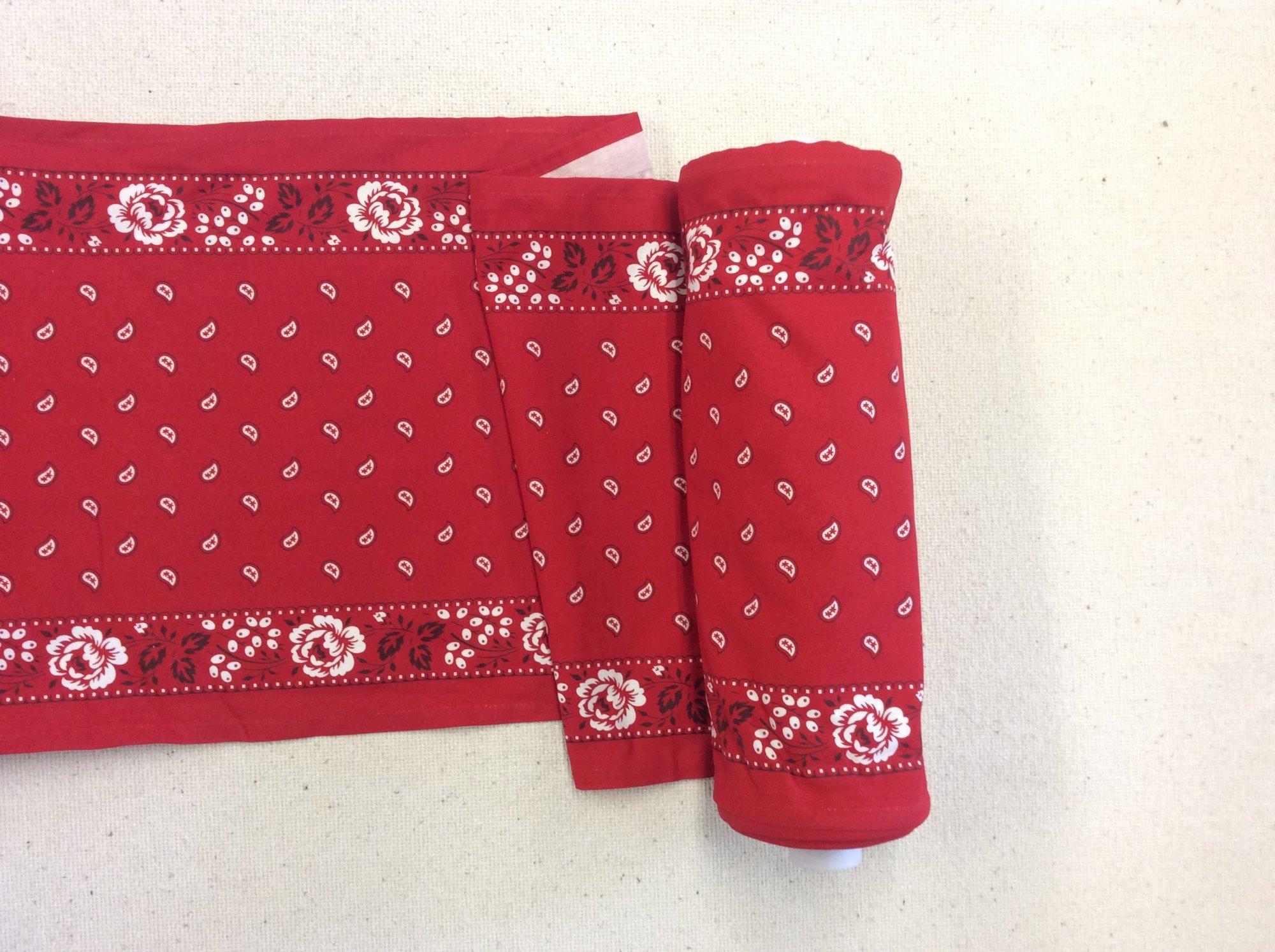 Bandana Printed Cotton Toweling Fabric MOT203