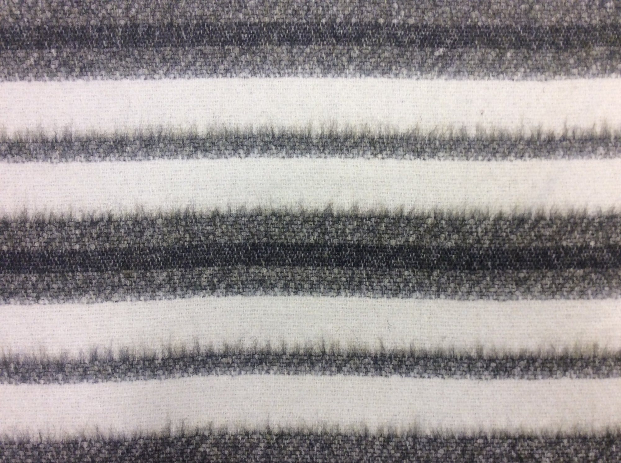 Made in Italy Striped Mid Weight Wool Apparel Sewing Fabric DK3255