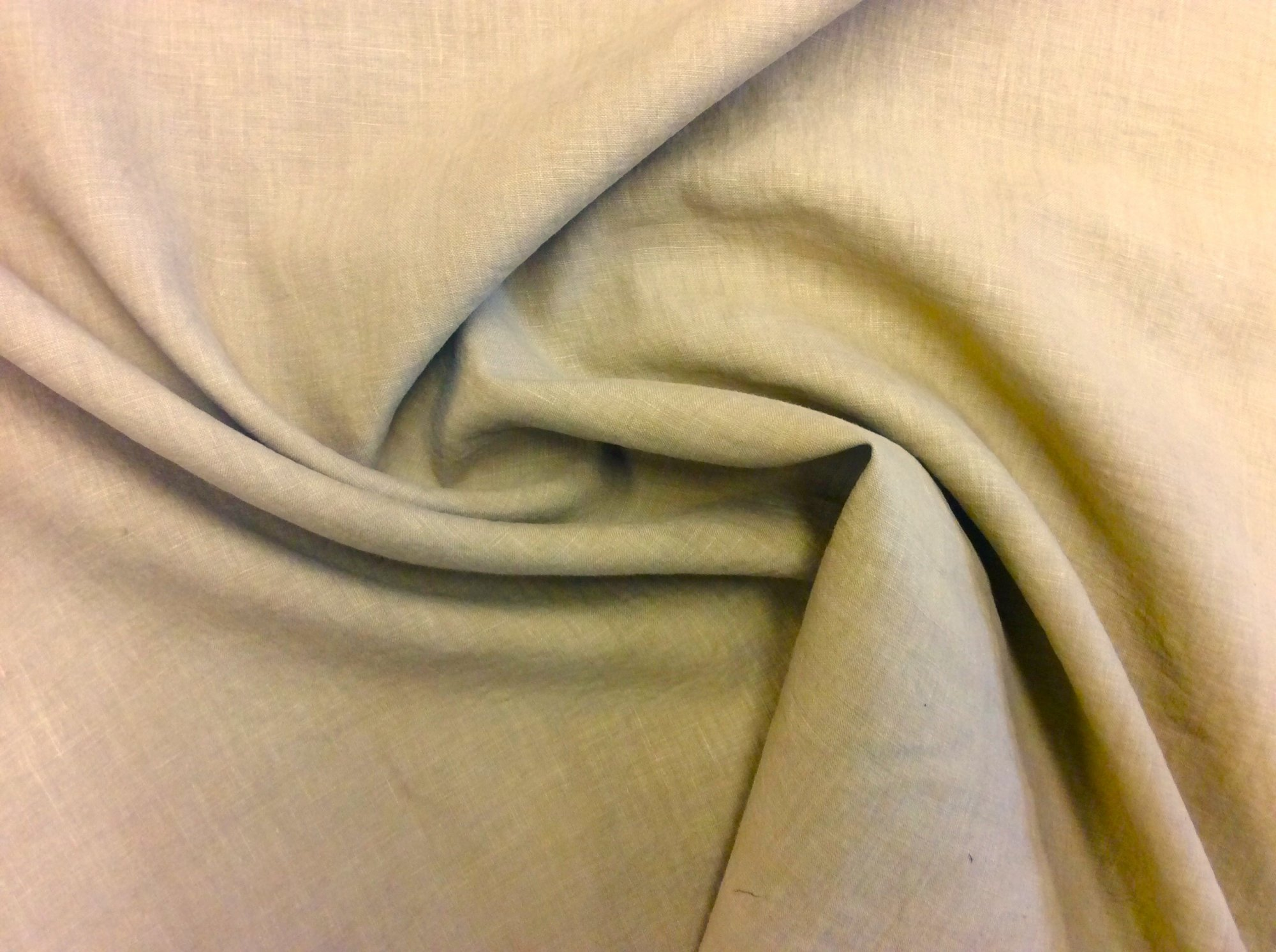 Backed 100% Linen Apparel Sewing Fabric CC7688